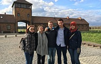 First Time in Auschwitz: A Dutch Intern Talks About His Experience