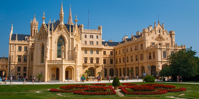 Lednice Chateau, Czech Republic