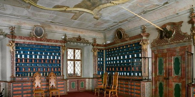 Baroque Pharmacy at Hospital Kuks