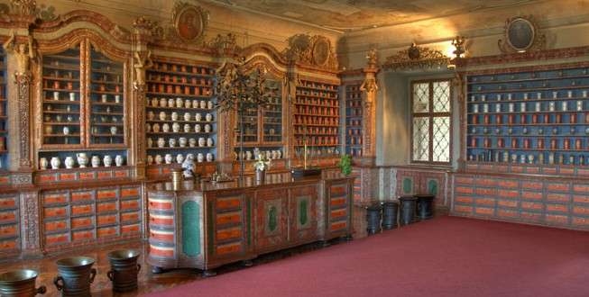 Czech Pharmaceutical Museum, Kuks